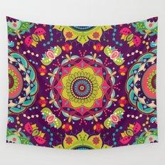 Papel de Parede Mandalas Wall Tapestry