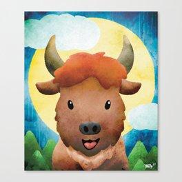 Mark Buffalo - Not a Hulk, just a hunk - Nursery Art Canvas Print