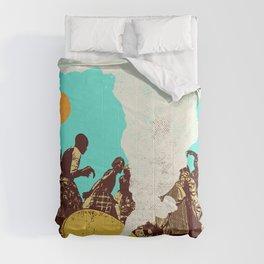 AFRICAN HORN Comforters