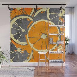 Lemon Wall Mural