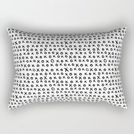 CAL HUG KISS XOXOX Rectangular Pillow