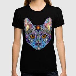 Mystic Psychedelic Cat T-shirt