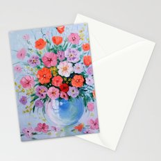 Bouquet of meadow flowers Stationery Cards
