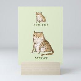Ocelittle Ocelot Mini Art Print
