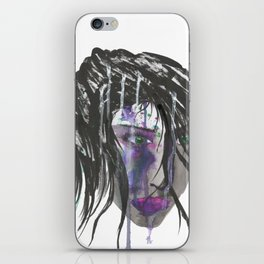 Victim (End Violence Against Women) iPhone Skin