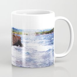Upper Peninsula Landscape Coffee Mug