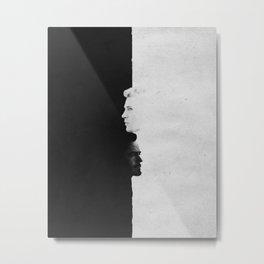 Tony & Steve | Split Metal Print
