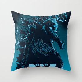 Godzilla 1954 Throw Pillow