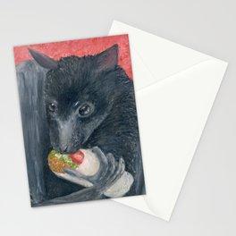 Taco Bat Stationery Cards