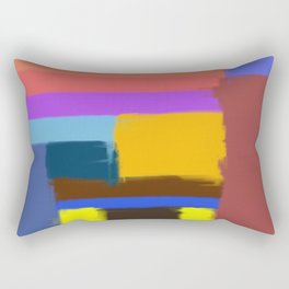 Abstract No 506 By Chad Paschke Rectangular Pillow