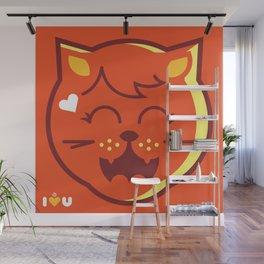 UNDO   ILU Pet Lover series[ nena ] Wall Mural