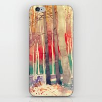 takmaj iPhone & iPod Skins featuring Woods by takmaj