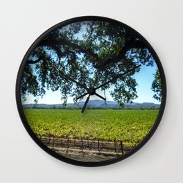 Tree and Vine Wall Clock