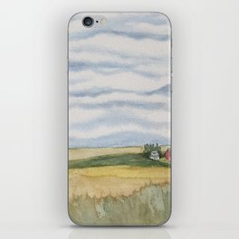 Asperitas Over the Field of Dreams iPhone Skin