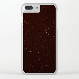 scarce to be counted Clear iPhone Case