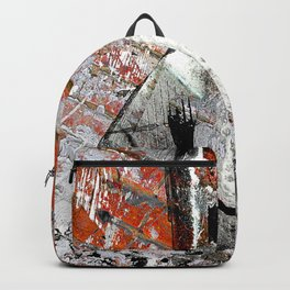Modern Golf Art 3 Backpack