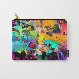 TieDie Palm Tree Carry-All Pouch