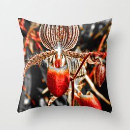 Orchid Black series 1 Throw Pillow