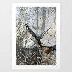 Silver II Art Print