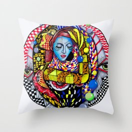 BAILAORAS Throw Pillow
