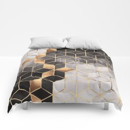 Smoky Cubes Comforters