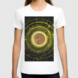Bitcoin Blockchain Cryptocurrency T-shirt