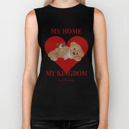 My Home, My Kingdom - Red Biker Tank