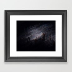 sound of the city Framed Art Print