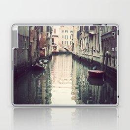 Boats in Venice Laptop & iPad Skin