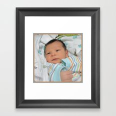 Askar for Grandpa  Framed Art Print