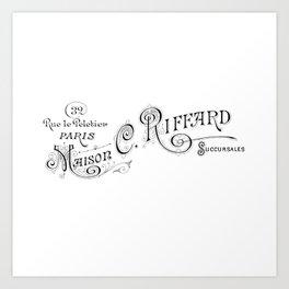 Maison Typography Art Print
