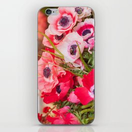 Anemones  and Bumblebee 5946 iPhone Skin