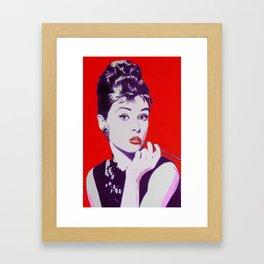 Audrey Framed Art Print