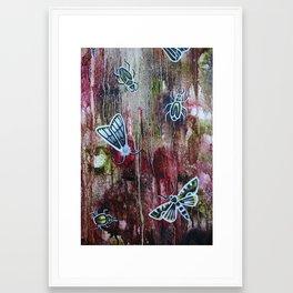 bark (close up) Framed Art Print