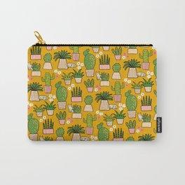 Cacti Cat Desert Garden Carry-All Pouch
