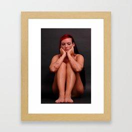 HOPE-LUV-FAITH Framed Art Print