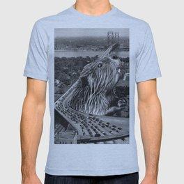 San Francisco Giant Kaiju Earthquake  - Vintage Collage T-shirt