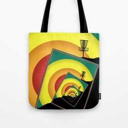 Spinning Disc Golf Baskets 3 Tote Bag
