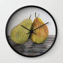 Pair of Pears Wall Clock