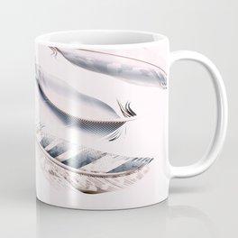 Cosmic Feathers Pink Dust Coffee Mug