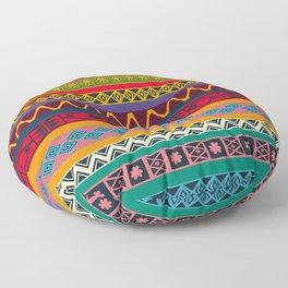 African pattern No4 Floor Pillow