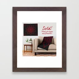 Sold February 19 2016 - Thank You! Framed Art Print