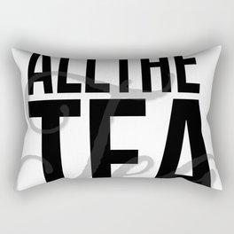 All the Tea Rectangular Pillow