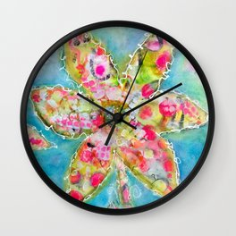 Gumdrops in spring Wall Clock