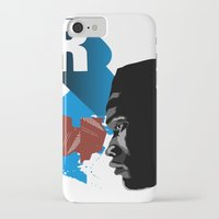rap iPhone & iPod Cases featuring Rap by David Navascues
