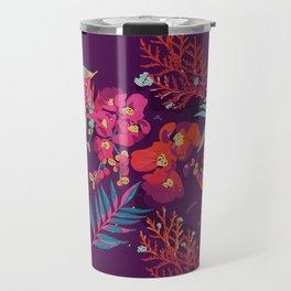 flower party Travel Mug