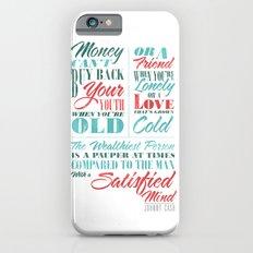 Satisfied Mind iPhone 6s Slim Case