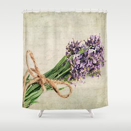 Lavender Shower Curtain