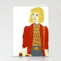 enjolras Stationery Cards featuring GENDERBENT : ENJOLRAS by Cy-lindric