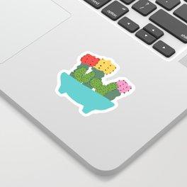 cacti bowl Sticker